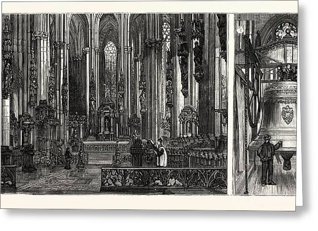 The Completion Of The Cologne Cathedral Greeting Card