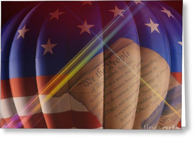 The Constitution Greeting Card by Janice Spivey