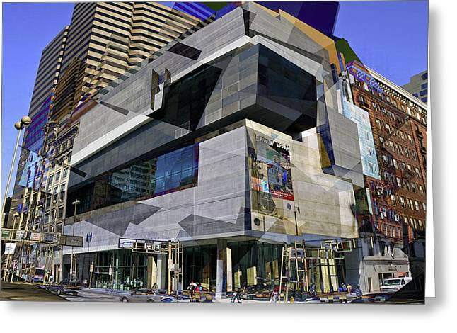 The Contemporary Arts Center Greeting Card by Scott Meyer