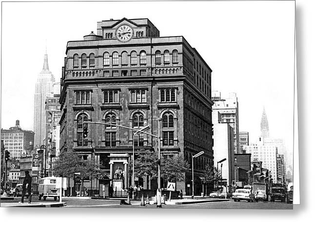 The Cooper Union Building Greeting Card