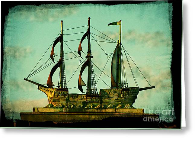 The Copper Ship Greeting Card