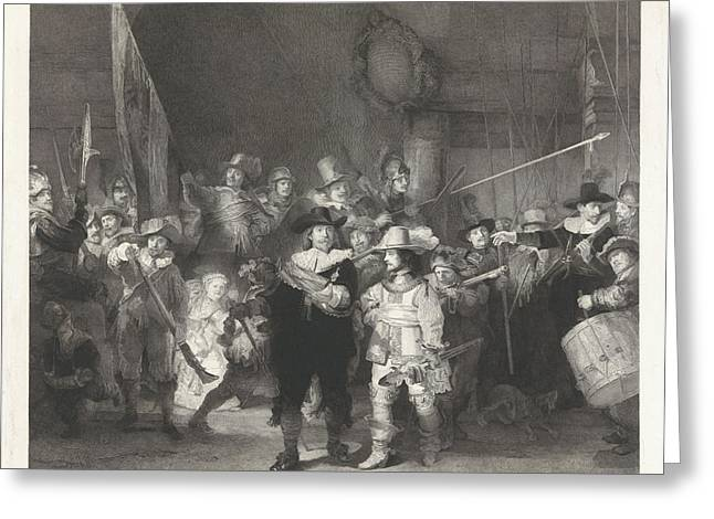The Corporal Company Of Captain Frans Banninck Cocq Greeting Card