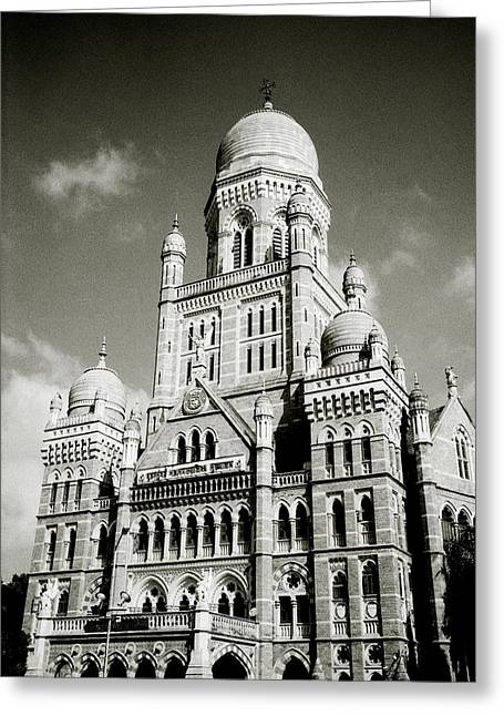 The Corporation Building Bombay Greeting Card
