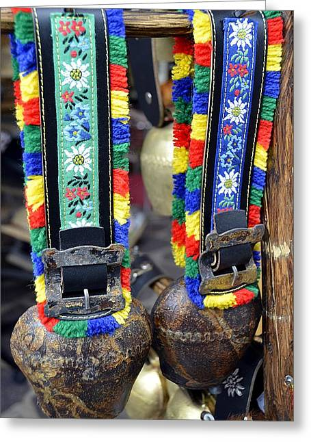 The Cow Bells From Tyrol Greeting Card