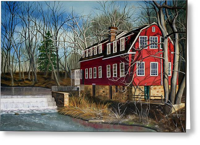 The Cranford Mill Greeting Card