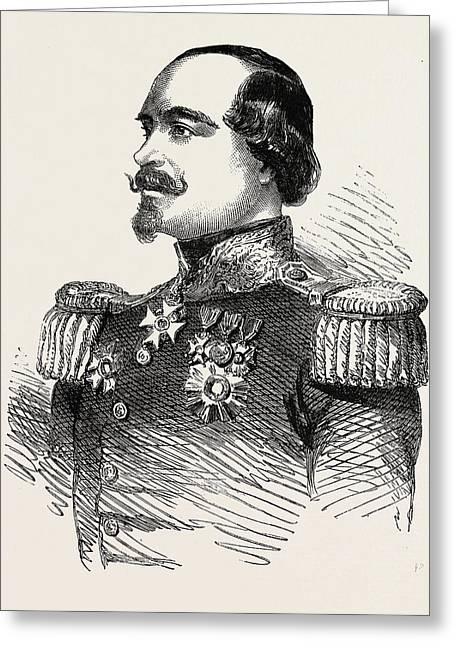 The Crimean War General Canrobert Commander-in-chief Greeting Card by English School