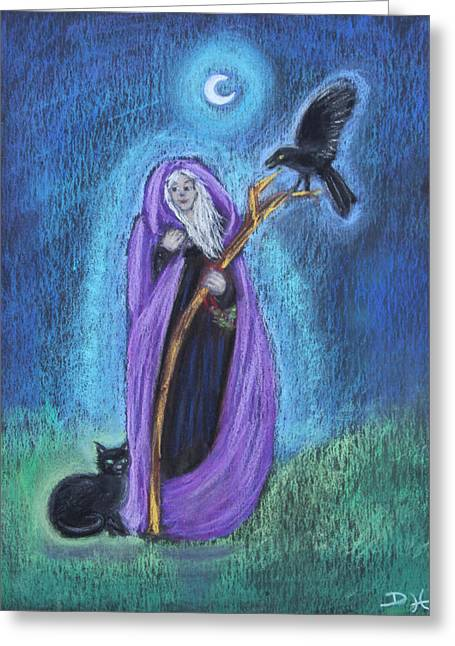 The Crone Greeting Card