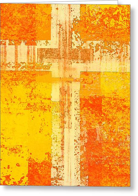 The Cross Within  Greeting Card