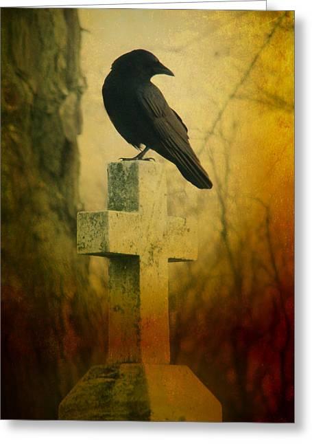 The Crow's Cross Greeting Card