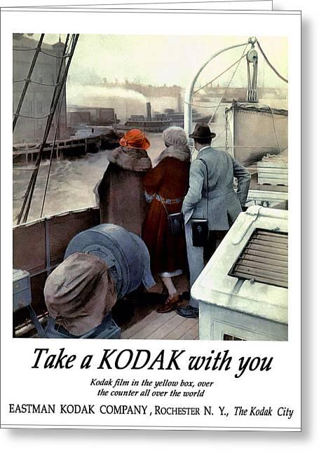 The Cruise. Circa 1922. Greeting Card