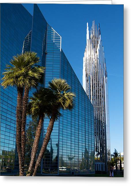 The Crystal Cathedral  Greeting Card by Duncan Selby