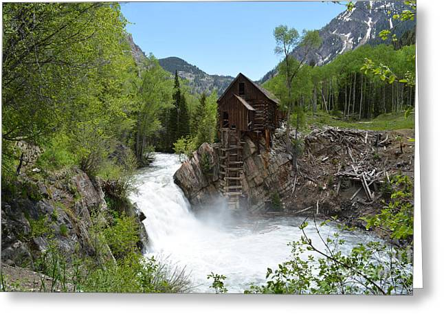 The Crystal Mill Greeting Card
