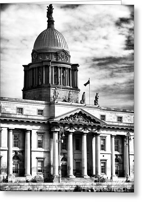 The Custom House Greeting Card by John Rizzuto
