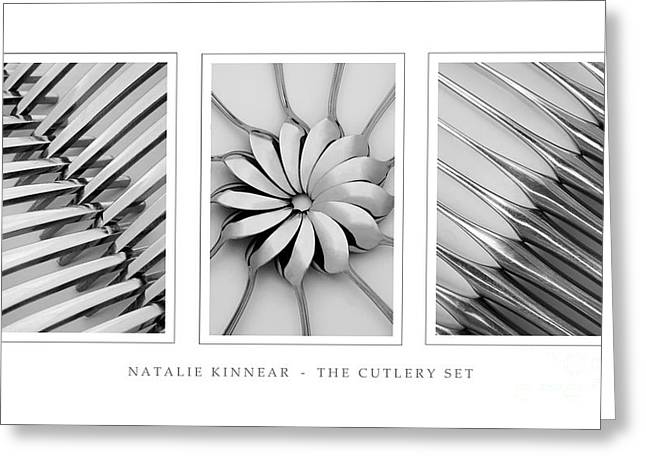 The Cutlery Set Greeting Card by Natalie Kinnear