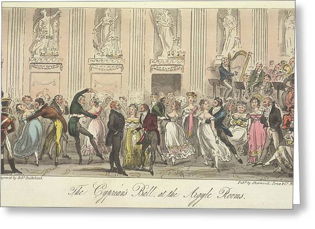 The Cyprian's Ball Greeting Card