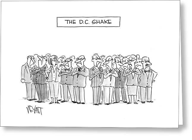 The D. C. Shake Greeting Card