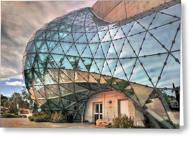 The Dali Museum St Petersburg Greeting Card by Mal Bray