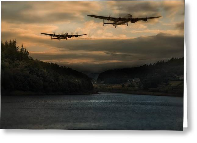 The Dambusters Greeting Card by Jason Green
