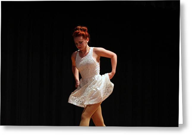 The Dance Greeting Card by Carolyn Ricks