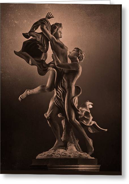 The Dance Of Love Greeting Card