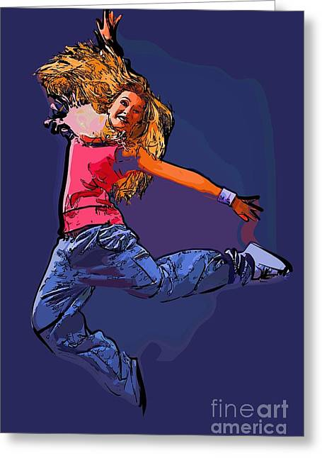 The Dancer 66 Greeting Card