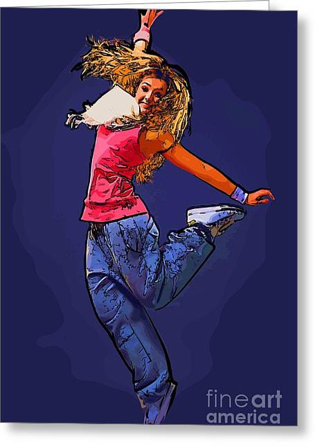 The Dancer 67 Greeting Card