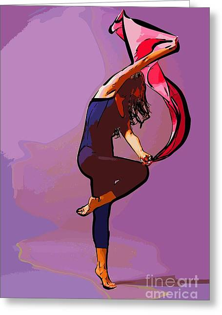 The Dancer 68 Greeting Card