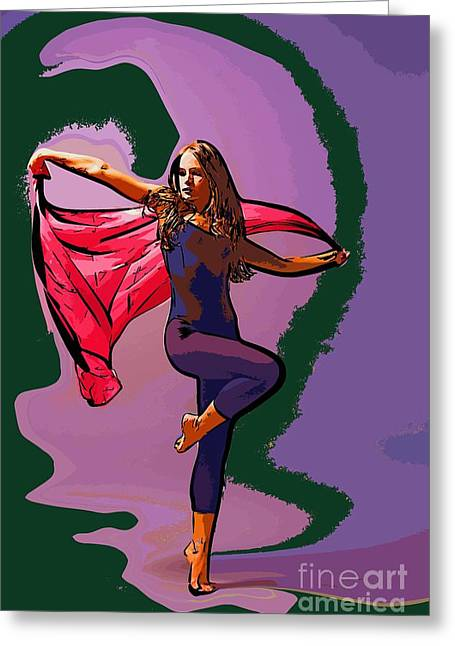 The Dancer 69 Greeting Card