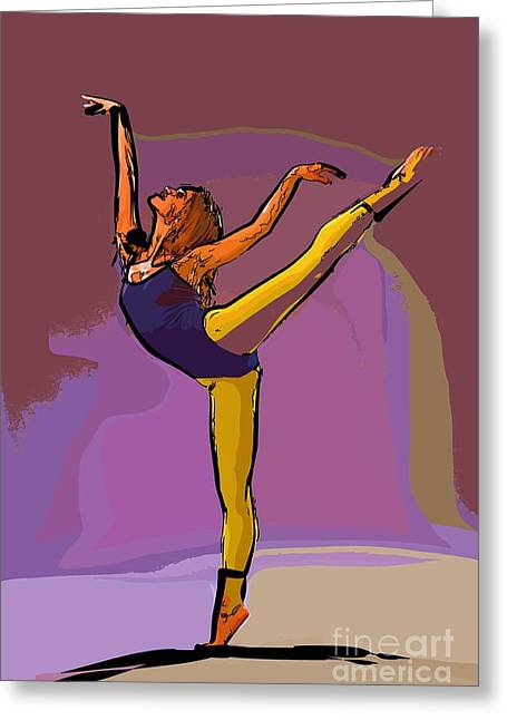 The Dancer 71 Greeting Card