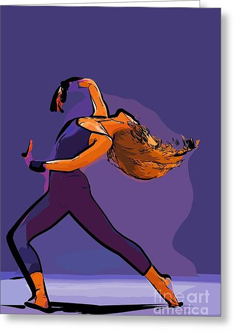 The Dancer 73 Greeting Card