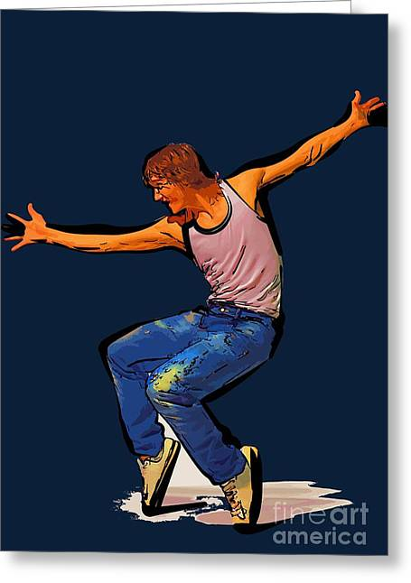 The Dancer 75 Greeting Card