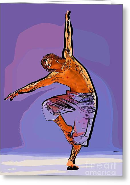 The Dancer 79 Greeting Card