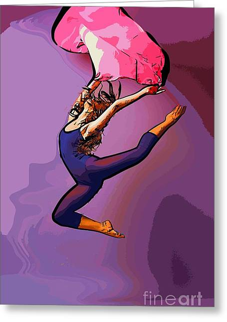 The Dancer 86 Greeting Card