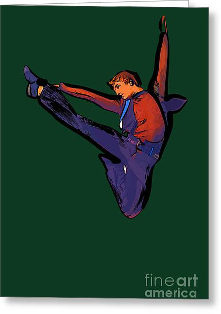 The Dancer 87 Greeting Card