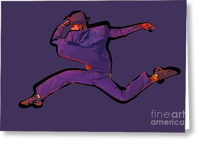 The Dancer 89 Greeting Card