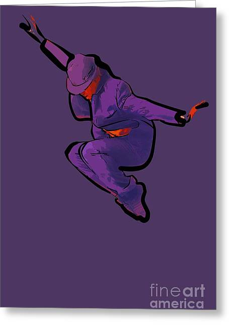 The Dancer 90 Greeting Card