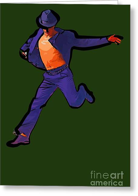 The Dancer 91 Greeting Card