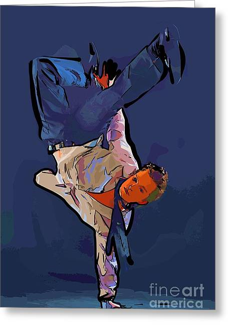 The Dancer 92 Greeting Card