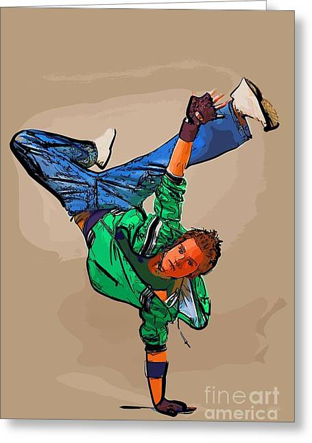 The Dancer 95 Greeting Card
