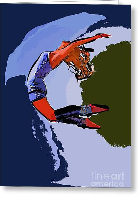 The Dancer 96 Greeting Card