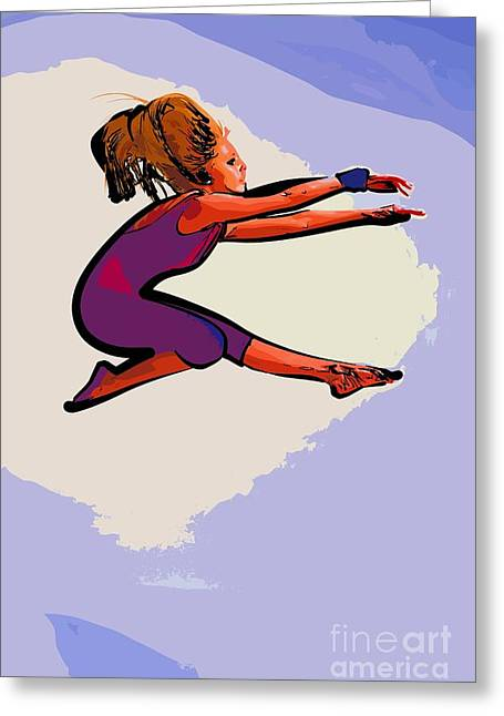 The Dancer 97 Greeting Card