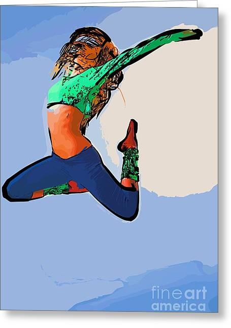 The Dancer 98 Greeting Card
