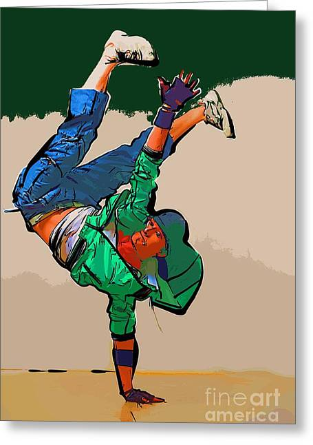 The Dancer 99 Greeting Card