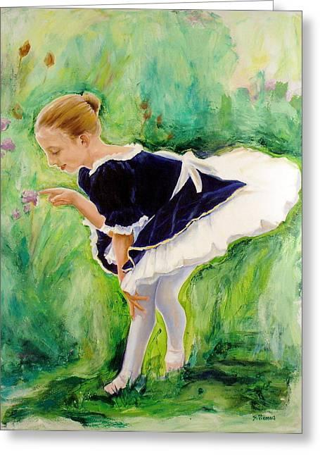 The Dancer Greeting Card by Sheila Diemert