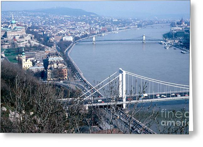 The Danube Greeting Card by Eva Kato