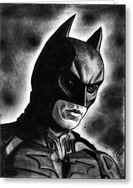 Batman #2 Greeting Card