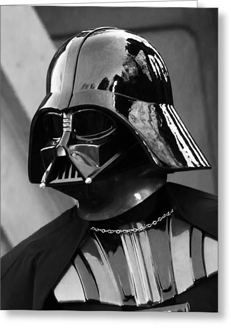 The Dark Leader Greeting Card