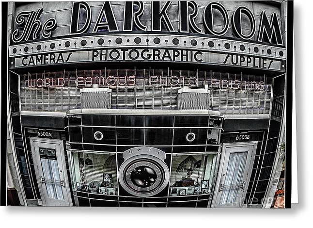The Darkroom Greeting Card