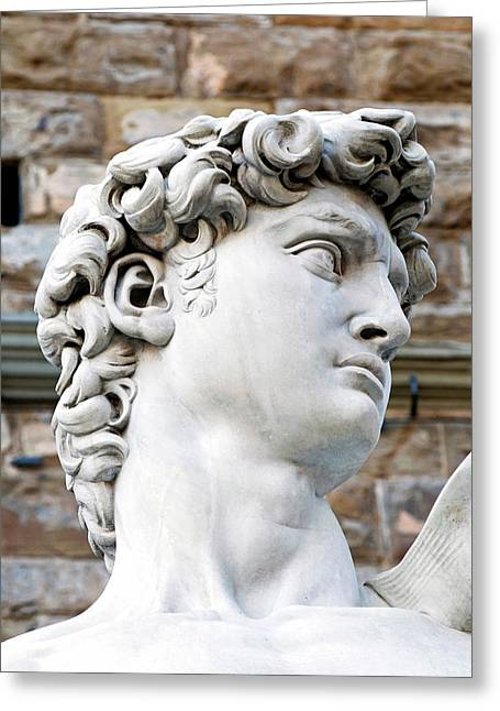 The David Of Michelangelo (16th Century Greeting Card by Nico Tondini