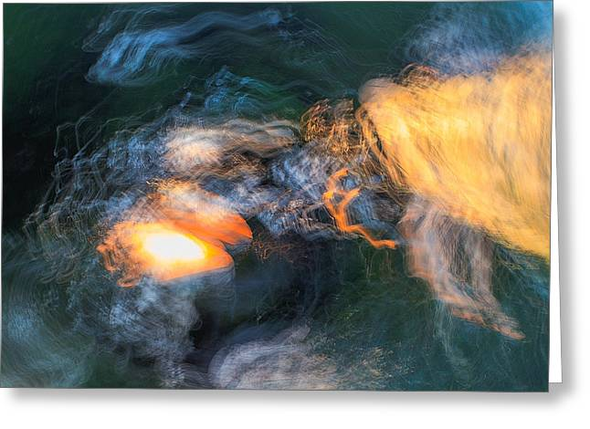 The Dawn Of Time Greeting Card by Steve Belovarich